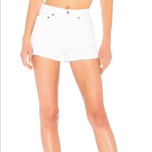 NWT SOLD OUT RE/done high waisted shorts